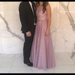 Mauve ballgown